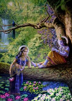 Радха и Кришна | 230 фотографий