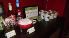 Hot Cocoa Bar with All the Fixings