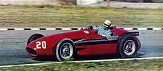 1955 GP Niemiec (Sergio Mantovani) Maserati 250F