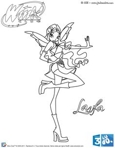 winx club witches coloring pages - photo#17