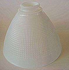 Vintage Milk Glass Lamp Shade by fatcatvintage on Etsy, $20.00