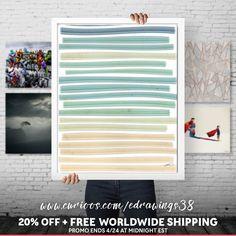 FREE SHIPPING + 20% OFF all my wall art on Curioos ➤ https://www.curioos.com/edrawings38/promo   #wallart #walldecor #design #abstract #geometric #home #decor #interiordesign #digitalart #minimalist #artprint #buyart #sale #freeshipping #curioos #edrawings38 #artist