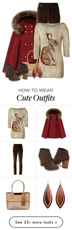 """""""Bunny Shirt & Cape"""" by majezy on Polyvore featuring Isabel Marant, Calvin Klein, WearAll and Mark Davis"""