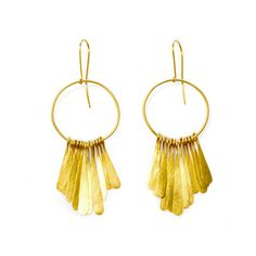 Fringe Earrings, also from Soko, a portion of each sale goes towards indigenous education or school building in Ghana or so much more.