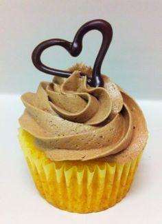 Vanilla with chocolate buttercream!