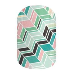 Jamberry Nail Wraps - GELATO - nail art design from Spring/Summer 2015 catalog -#momentswithmandi  available at http://mandiwelbaum.jamberrynails.net