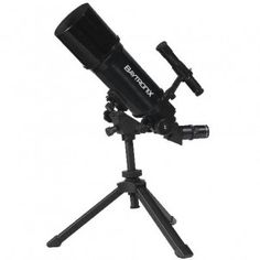 Black TwinStar AstroMark 80mm 16-40x Power Portable Refractor Telescope