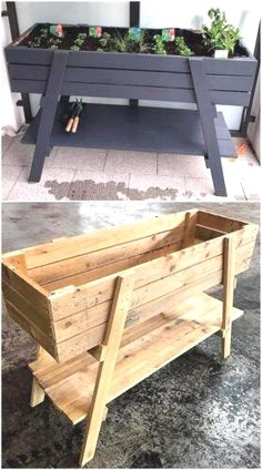 Pallet wood is like nothing else you can find. It comes to you unique, rustic, distinct and best of all – free! Learn all about pallet projects here! #palletprojects #palletfurniture