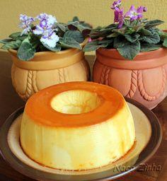 Pudim de queijo com iogurte » NacoZinha - Blog de culinária, gastronomia e flores - Gina