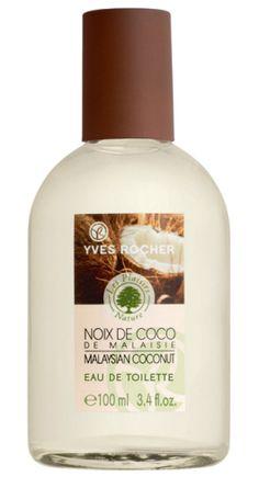 Yves Rocher's Malaysian Coconut Eau de Toilette an exotic smell! Eau de toilette Noix de Coco de Malaisie une odeur exotique !