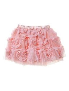 Heart-shaped tulle skirt   Gap
