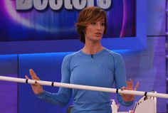 Celebrity personal trainer Ashley Borden demonstrates three toning moves you can do with a PVC pipe that you can buy at your local hardware store for less than $10. The pipe helps with proper alignment and balance.