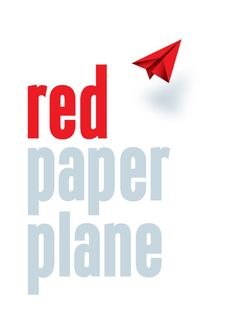 Red Paper Plane Logo. Beautiful Design. Launching soon (Summer 2013).