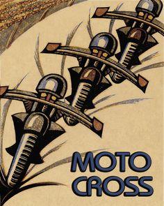 Available for sale from Osborne Samuel, Sybil Andrews, Speedway Linocut, × cm Motorcycle Posters, Motorcycle Art, Bike Art, Art Nouveau Pintura, Sybil Andrews, Linocut Prints, Art Prints, Block Prints, Moto Cross
