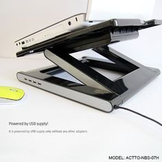 Introducing NBS07H NOTEBOOK LAPTOP COOLING STAND W 4 PORT USB HUB Black. Great product and follow us for more updates!