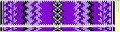 Beltestakk 010 - 122 brikker lilla
