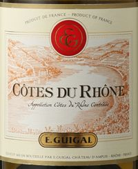 A SUPERMARKETWINE….or not?!  Cotes du Rhone from…..E. Guigal….  Read on…  http://www.wijngekken.nl/2015/02/21/cotes-du-rhone-e-guigal-2011-ac-cotes-du-rhone-frankrijk/