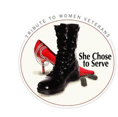 WOMEN VETERANS    She Chose to Serve.      Women have never been drafted into the military.  Each, and every one of us, volunteered to serve in the Armed Forces of the United States of America.  Yes, it was a choice.
