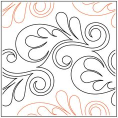 Quilting Stencils, Quilting Templates, Machine Quilting Designs, Longarm Quilting, Free Motion Quilting, Quilting Tips, Quilt Patterns, Rose Sketch, Patchwork Tutorial