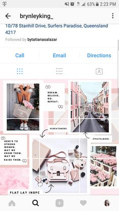 How to Make a Puzzle Feed Without Photoshop — Paper & a Plan Flux Instagram, Instagram Grid, Instagram Posts, Instagram Feed Layout, Instagram Design, Instagram Banner, Social Media Template, Social Media Design, Banners