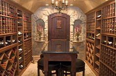 Image detail for -Custom Wine Cellar Design - Classic Cellar Design