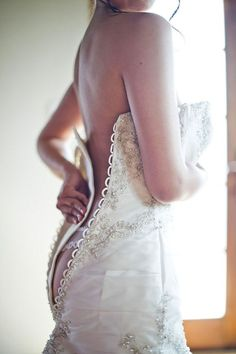 18 Must Take Photos Of Your Wedding Dress ❤ In our gallery of must take photos of your wedding dress we want to show best ideas to capture most memorable moments. See more: http://www.weddingforward.com/must-take-photos-wedding-dress/ #wedding #photo