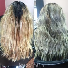 Dirty root Ombre follow me on Instagram @hess8585