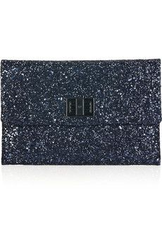 Anya Hindmarch clutch--night time glam!