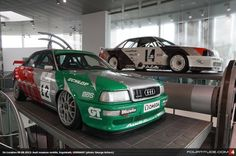 Audi 80 quattro Competition STW NSU Thurner RS at Audi museum mobile