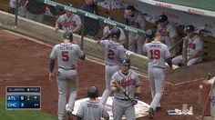 I love these boys!! Braves' six-run 4th inning