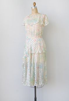 vintage 1920s Chimera Chimera dress http://www.etsy.com/listing/98613313/vintage-1920s-dress-vintage-1970s #vintage #1920s