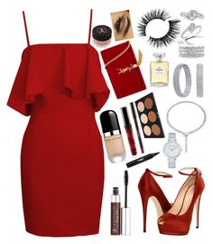 """""""Untitled #78"""" by sahel24 ❤ liked on Polyvore featuring Mark Broumand, Forevermark, Bulgari, Anastasia Beverly Hills, Giuseppe Zanotti, Marc Jacobs, Harry Winston, Chanel and Yves Saint Laurent"""