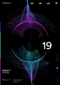 Colorpong.com - Dataism IV - Vector Bundle on Behance Graphic Design Posters, Graphic Design Inspiration, Brochure Layout, Corporate Brochure, Brochure Design, Brochure Template, Technology Posters, Yearbook Covers, Book Design Layout