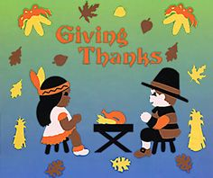Giving Thanks Thanksgiving Window Clings