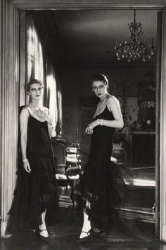 Lee Miller and Marion Morehouse, 1929, photo by Cecil Beaton  © Condé Nast via National Portrait Gallery  from maudelynn