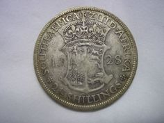 South African 2 1/2 Shillings 1928 Coins, African, Coining