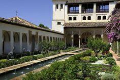 Granada El patio de Comares o de los Arrayanes