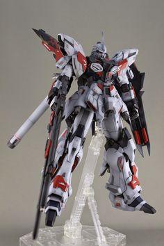 GUNDAM GUY: MG 1/100 Sinanju Prototype - Customized Build