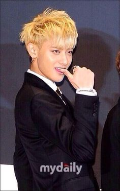 Tao has a charm about him that's like, You're hot