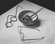 [Mondrian's Glasses and Pipe]; André Kertész (American, born Hungary, 1894 - 1985); Paris, France; 1926; Gelatin silver print; 19.8 x 24.8 cm (7 13/16 x 9 3/4 in.); 84.XM.193.27; J. Paul Getty Museum, Los Angeles, California