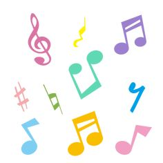 かわいい音符のイラスト Symbols, Letters, Cards, Jazz, Design, Draw, Logo, Music, Musica