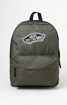 3f00dd6075 Vans Green Realm Backpack Vans Backpack