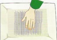 Instrucciones en español del proceso de afieltrado