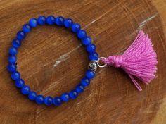 Pulseras con borlas | Bracelets with tassels