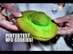 PINTERTEST- UFO COOKIES! - YouTube
