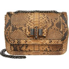 b8b884ce215f Christian Louboutin Terre python Sweety Charity shoulder bag