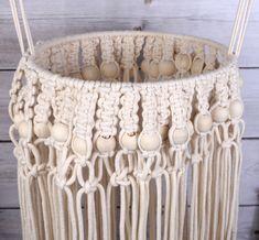 SUSPENSION - Suspension en coton cablé - Macramé - Graine Créative