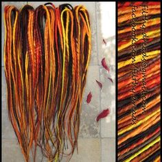 Filthy's Synthetic Dreads  (http://www.facebook.com/filthy.dreads)  #synthetic #dreads #dreadlocks #syntheticdreads  dread extensions