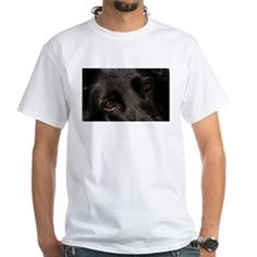 german shepherd black eyes T-Shirt