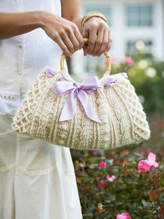 Creatively Crocheted Handbag